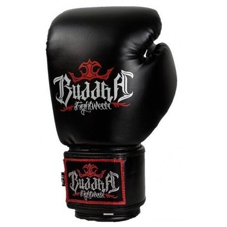 gants de boxe buddha sports noirs. Black Bedroom Furniture Sets. Home Design Ideas