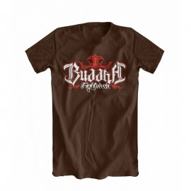 T-Shirt Buddha Training Chocolat