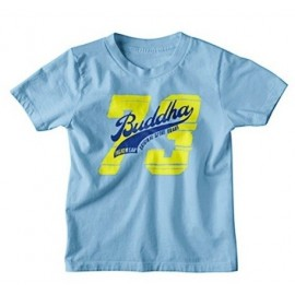T-shirt Buddha Sky Blue Enfant