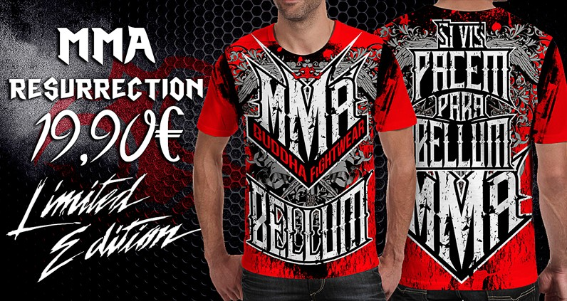 T-shirt MMA Resurrection