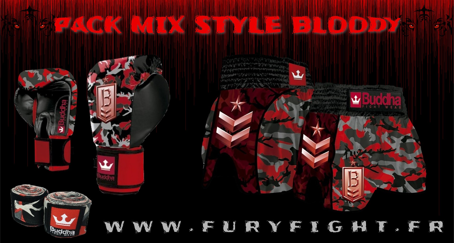 Pack Mix Style Bloody