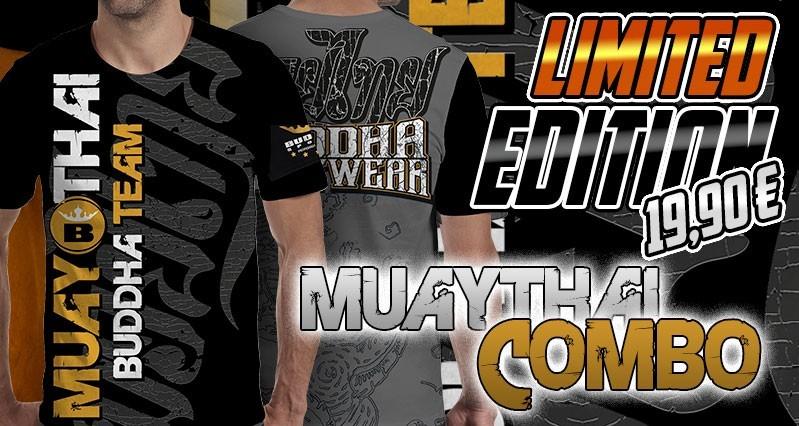 T-shirt Muay Thaï Combo