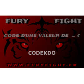 Carte cadeau Fury Fight