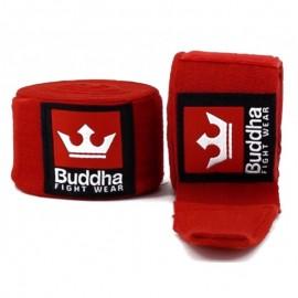 Bandes Buddha Elastiques 4,5m rouges