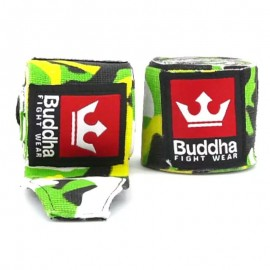 Bandes Coton Buddha Army Jungle 4m