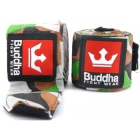 Bandes Coton Buddha Army Green Classic 4m
