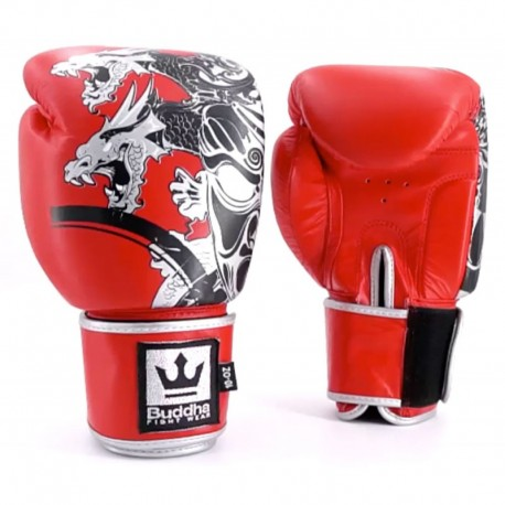 Gants de Boxe Buddha Dragon Rouges