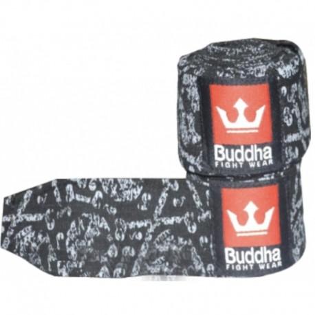 Bandes Buddha Elastiques 4.5m Mexican Noires
