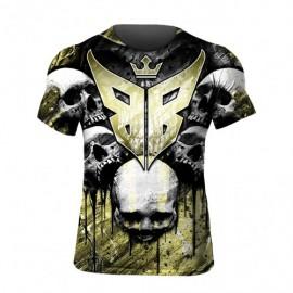 T-shirt Buddha Skull