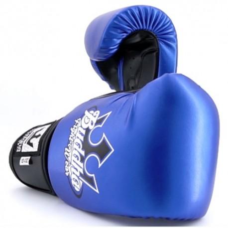 Gants de Boxe Buddha Metalic Bleu/Noir