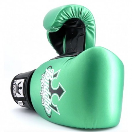 Gants de Boxe Buddha Metalic Vert/Noir