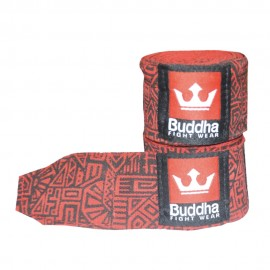 Bandes Buddha Elastiques 4.5m Aztec Rouges