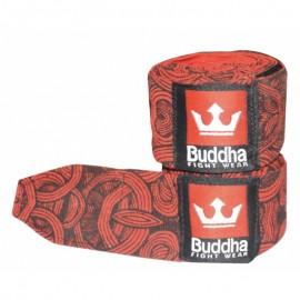 Bandes Buddha Elastiques 4.5m Tattoo Rouges