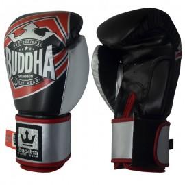Gants de Boxe Buddha Scorpion Noirs/Rouges