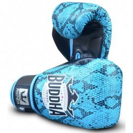 Gants de Boxe Buddha Snake Bleus