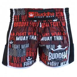 Short de Muay Thaï Buddha Rétro Top Premium
