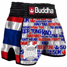 Short de Muay Thaï Buddha Rétro Thailand