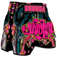 Short de Muay Thaï Buddha Rétro Cobra