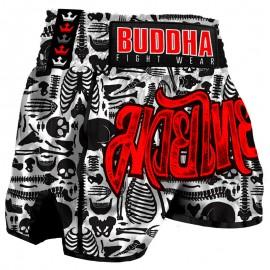 Short de Muay Thaï Buddha Rétro Skeletor