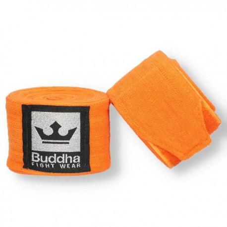 Bandes Buddha Elastiques En Coton 4,5m Oranges