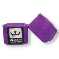 Bandes Buddha Elastiques En Coton 4,5m Violettes