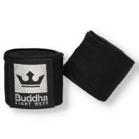 Bandes Buddha Coton Semi-Elastiques 4,5m noires
