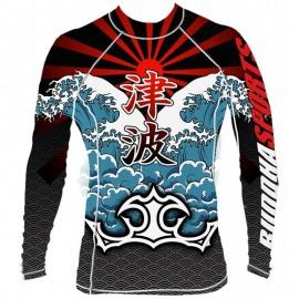 T-shirt Buddha Lycra Tsunami
