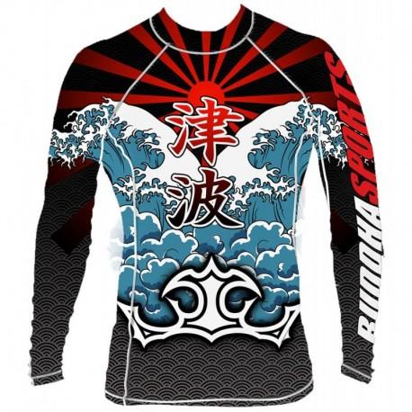 T-shirt MMA Lycra Tsunami