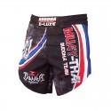 Short de MMA Buddha Extra Retro Muay Thaï Flag